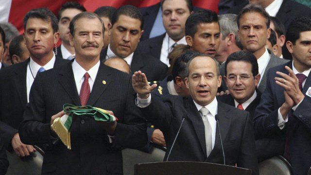 Calderón y Fox responden a AMLO por querer enjuiciarlos • Forbes Política •  Forbes México