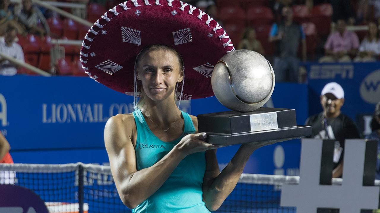 Abierto Mexicano de Tenis, tenis, Acapulco, Lesia Tsurenko