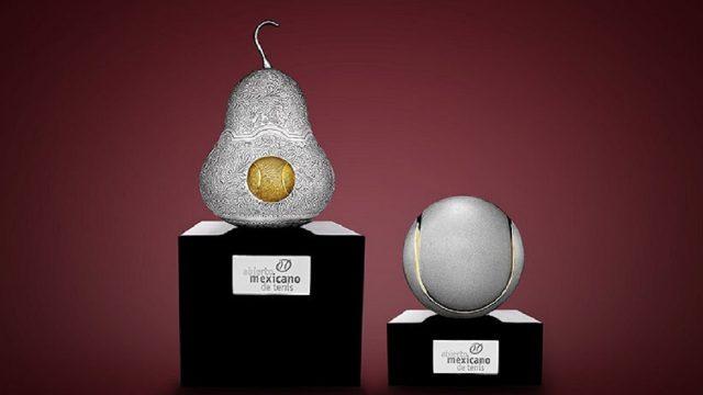 Tane, Abierto Mexicano de Tenis, trofeos