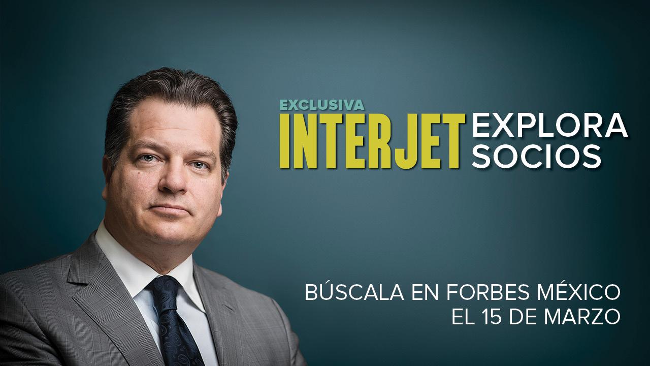 Exclusiva | Interjet no descarta nuevos socios: Miguel Alemán Magnani