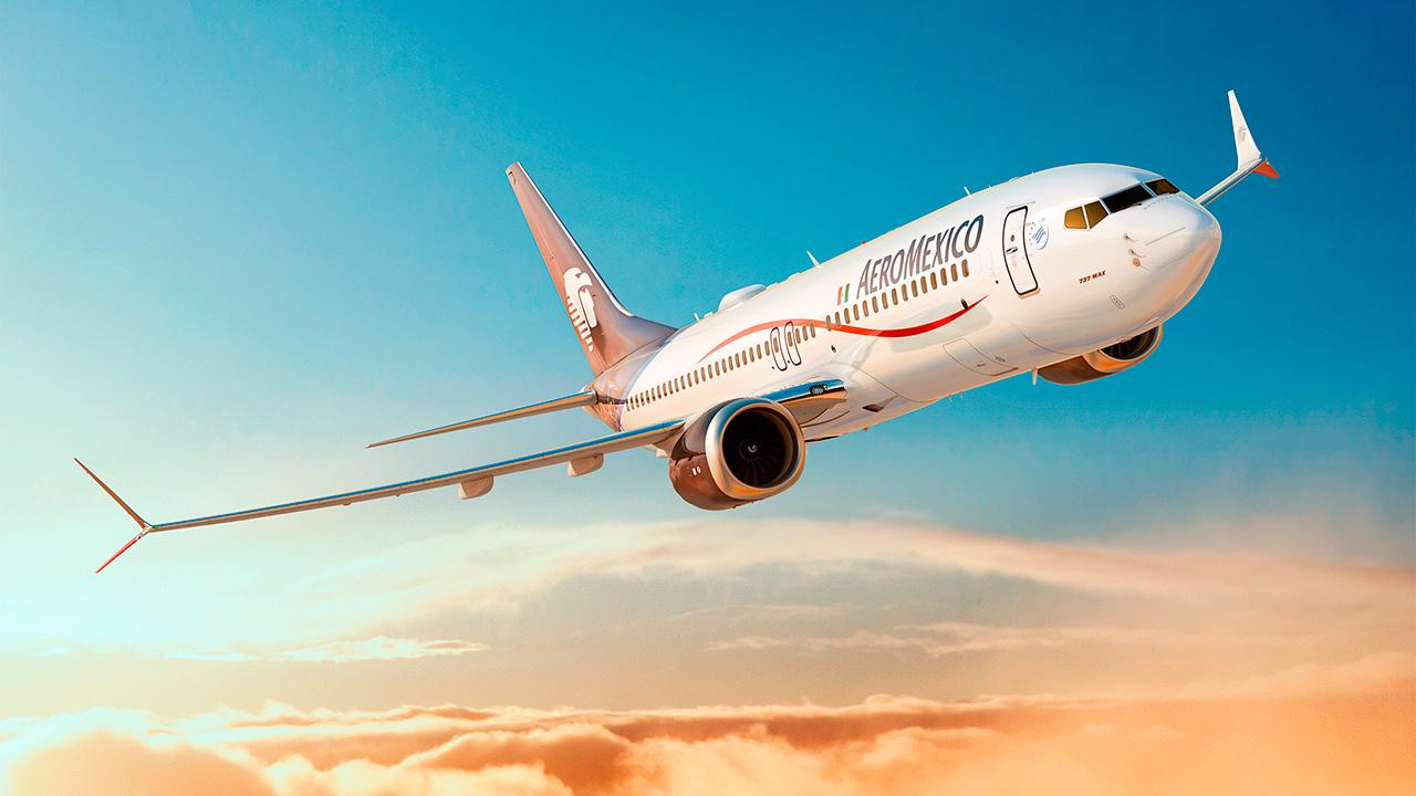 Conoce el nuevo Boeing 737 MAX de Aeroméxico
