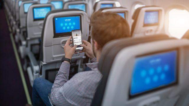 Ya podrás mandar y recibir mensajes gratis en vuelos de Aeroméxico