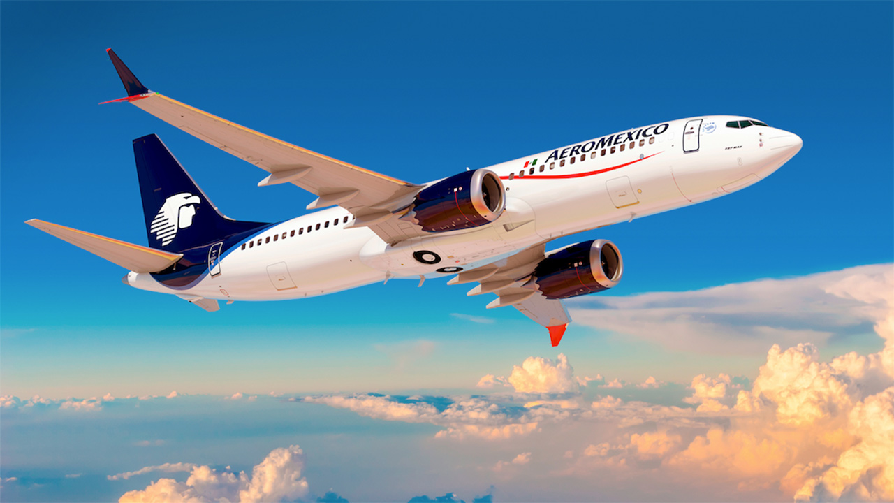Boeing 737 MAX-8 de Aeroméxico, la mejor experiencia de vuelo