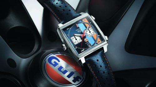 Monaco Edition Spéciale Gulf, un reloj para puristas del automovilismo