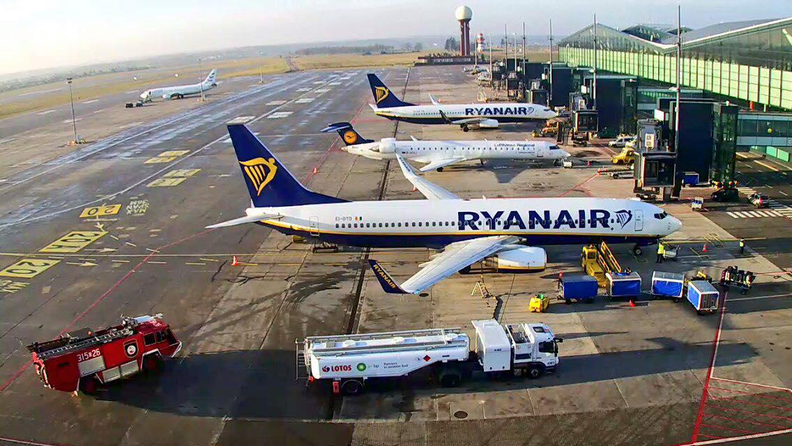 Ryanair se abre espacio en el mercado aéreo del norte de Europa