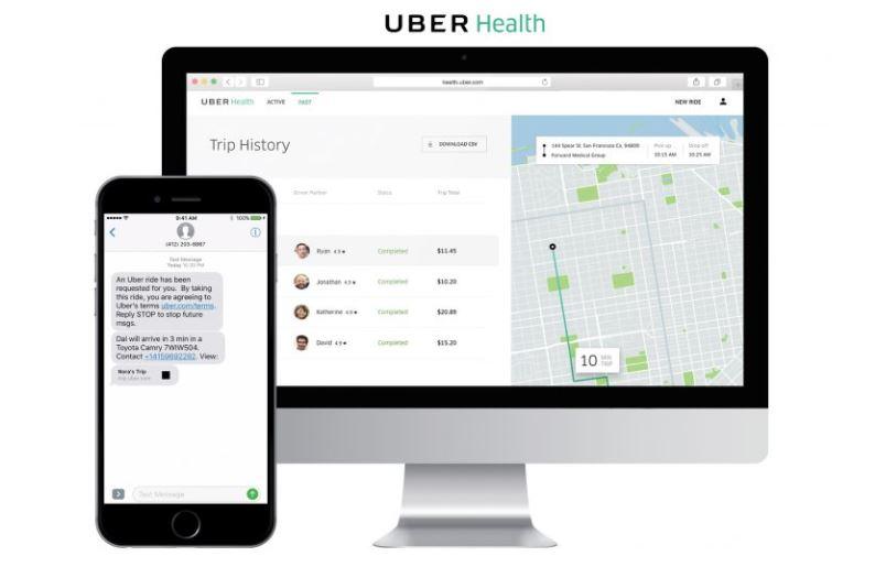 Uber Health trasladará a los pacientes de ida y vuelta al médico