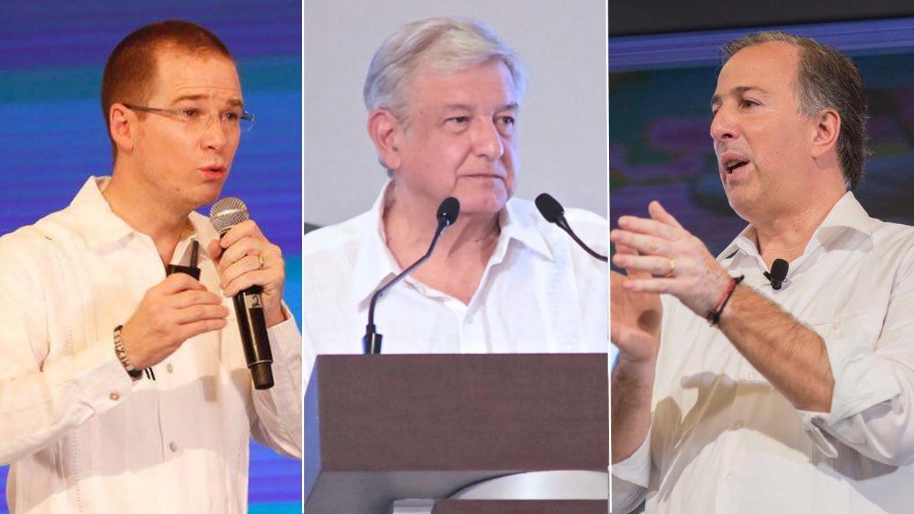 Meade y Anaya desafían a AMLO a un debate en intercampaña