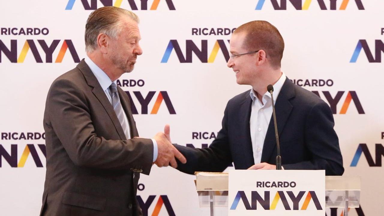 Jorge Castañeda se une al equipo de Ricardo Anaya