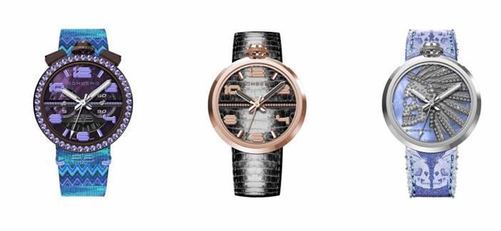6bbe9a5a5a39 Bomberg lanza su primera colección de relojes exclusiva para mujeres