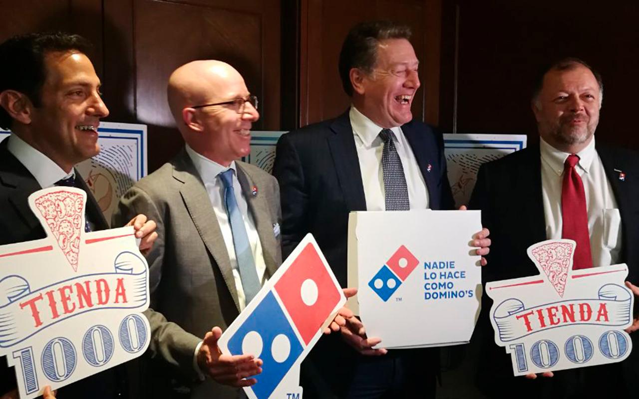 Alsea inaugura la tienda 1,000 de Domino's Pizza en México y alista 300 más
