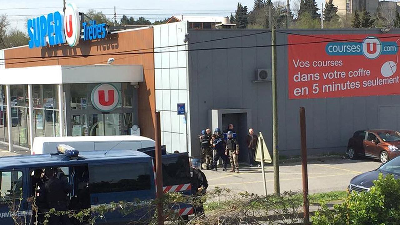 Toma de rehenes en Francia concluye con tres muertos y el atacante abatido