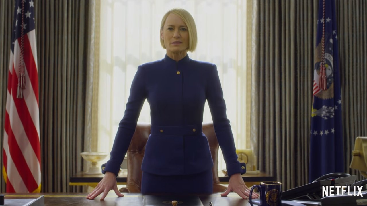 Estas son las primeras imágenes del 'House of Cards' post-Spacey
