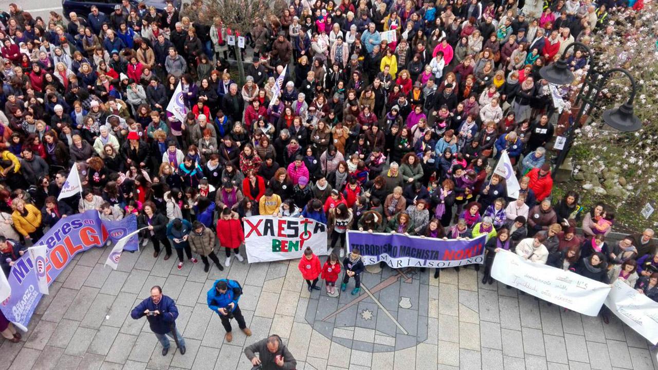 8M: con huelga masiva, las españolas exigen igualdad de género