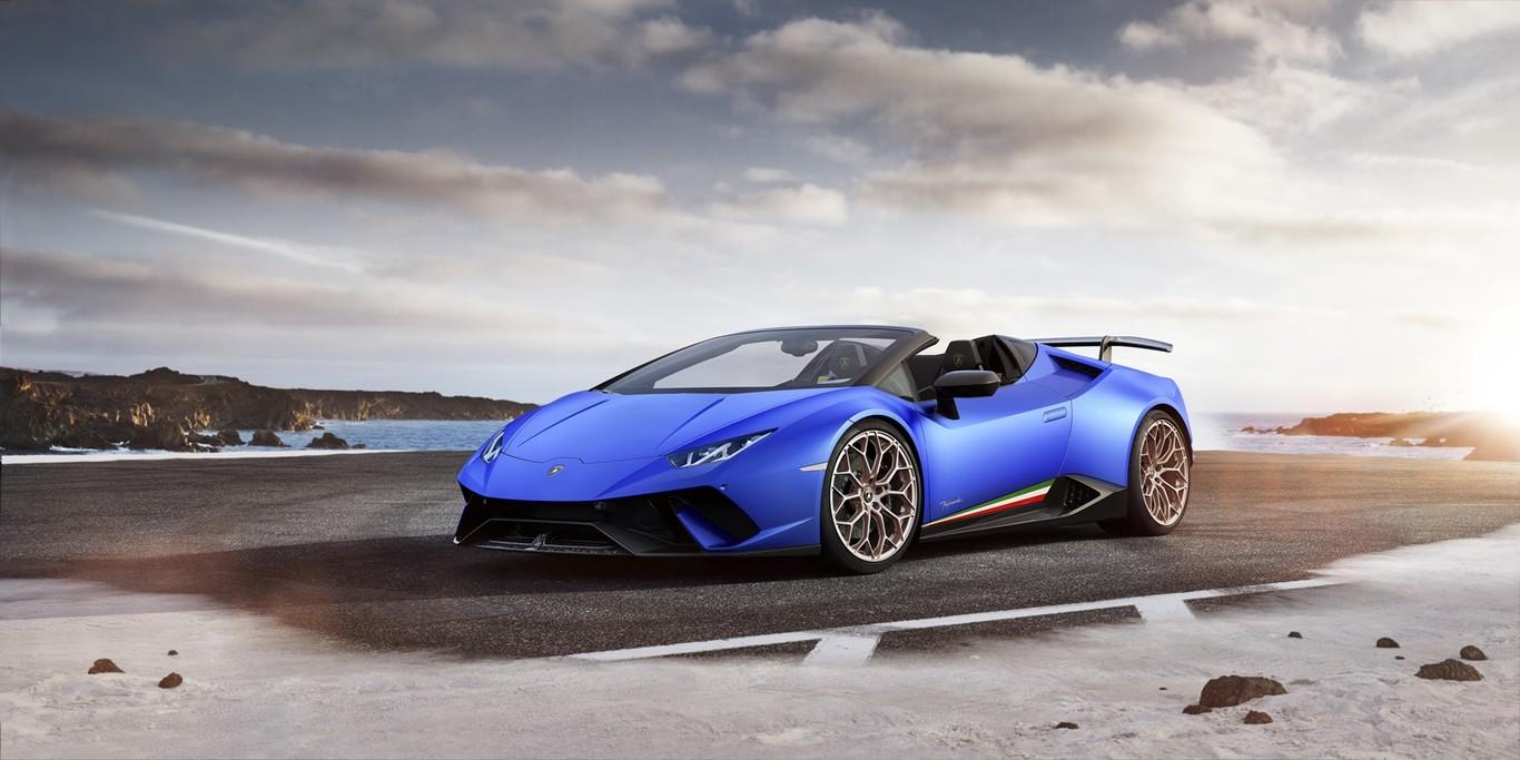 Lamborghini roba suspiros con el Huracan Performante Spyder