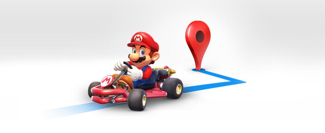 Mario Bros te lleva a tu destino desde Google Maps