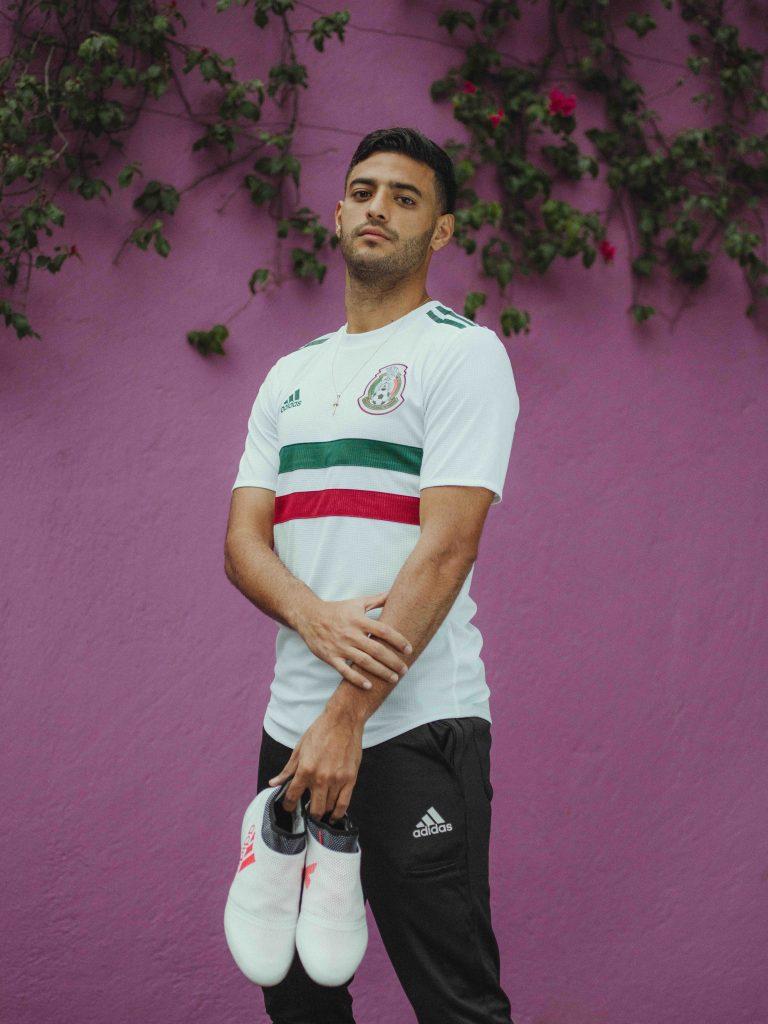 Conoce el jersey de visitante que usará México en Rusia 2018 8c709fc0606ca