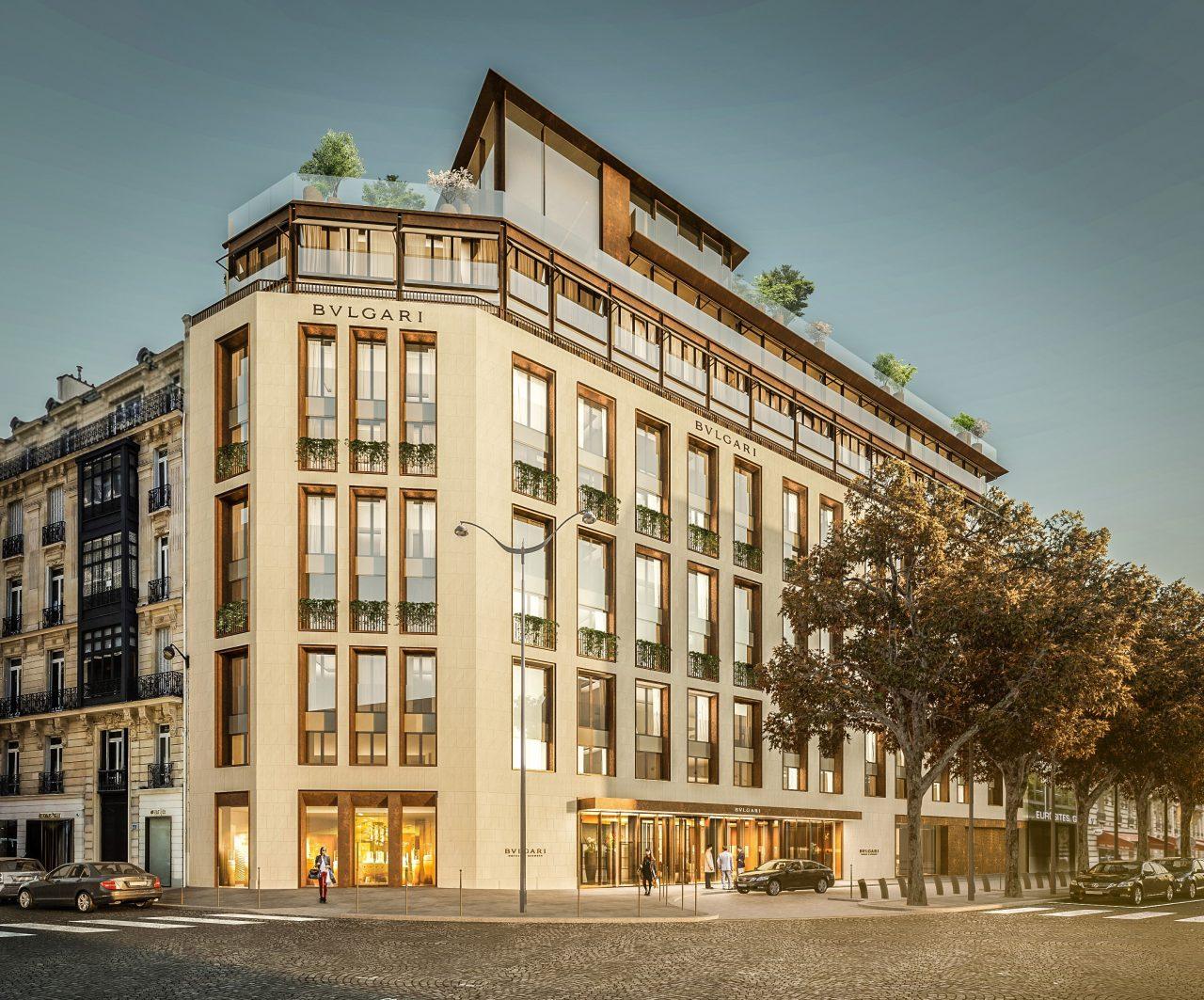 Bvlgari anuncia la apertura de su primer hotel en París