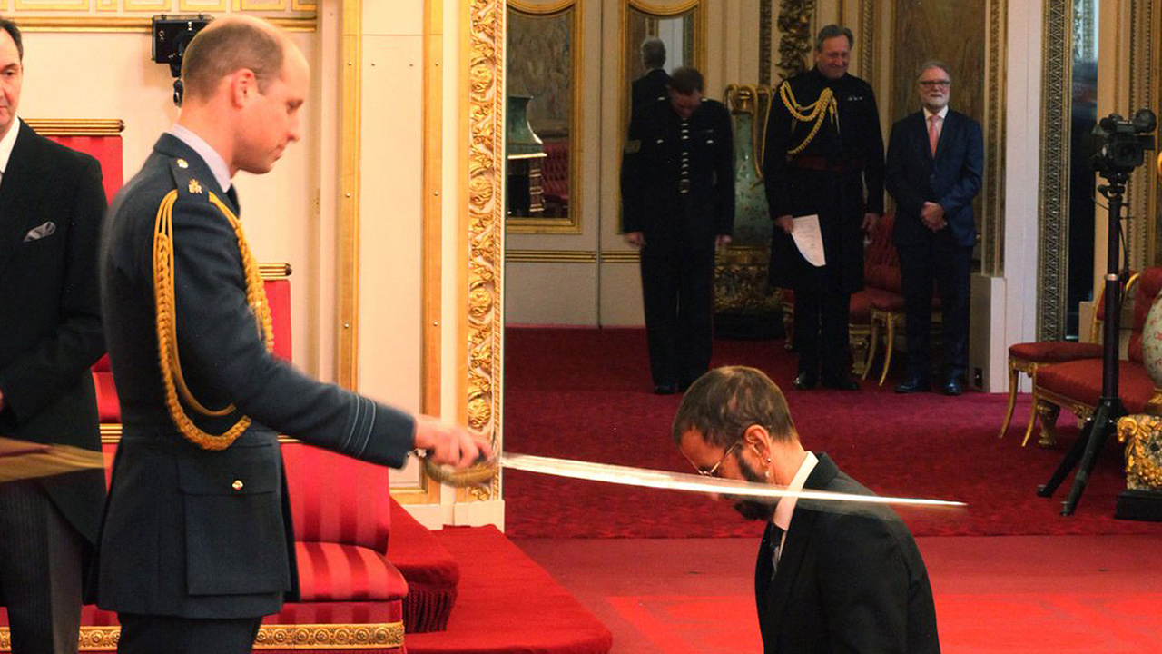 'Hey Sir': Ringo Starr es nombrado caballero del imperio británico