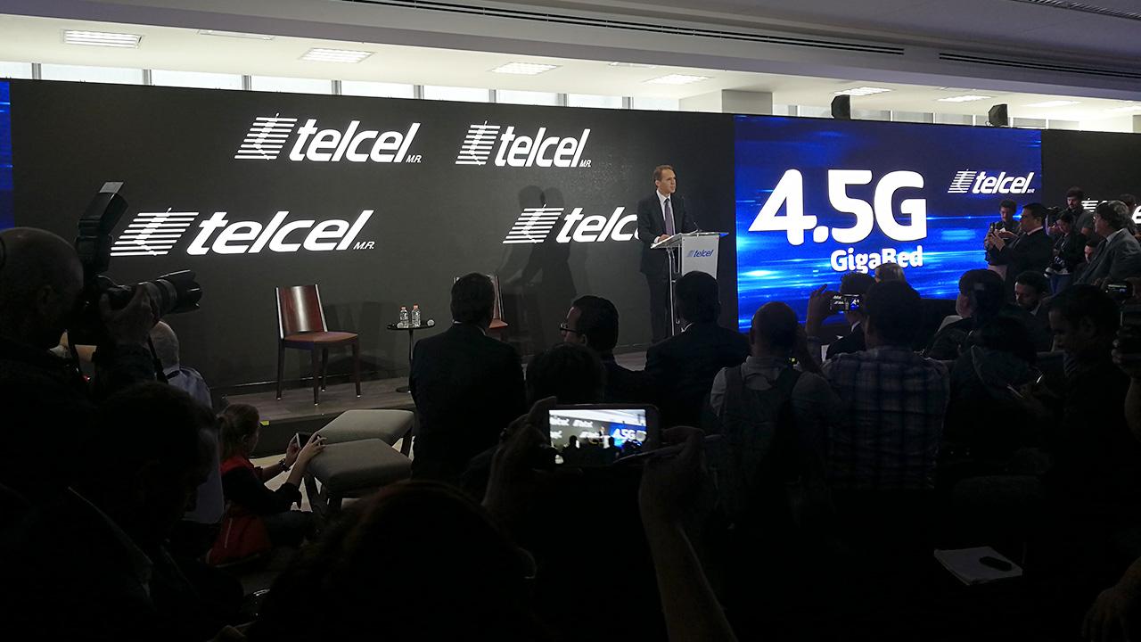 Telcel lanza su Gigared, hasta 10 veces más rápida que el 4G