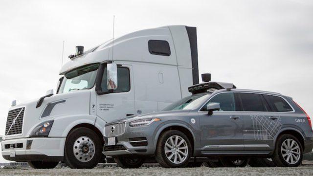 Uber anunció que sus camiones autónomos ya circulan en EEUU
