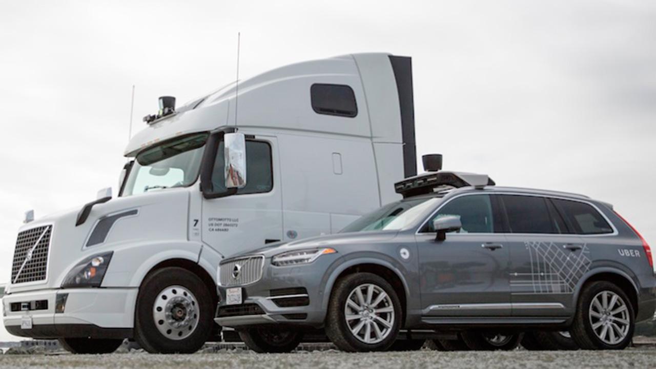 Los camiones sin conductor de Uber llegan a la carretera