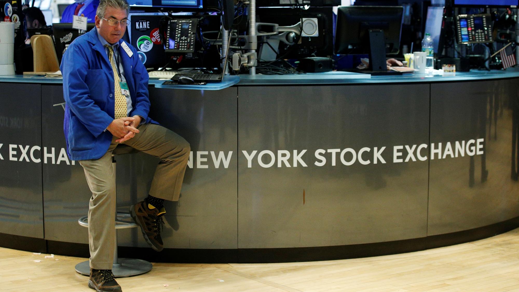 Wall Street cae y Dow Jones pone fin a racha de 8 alzas seguidas
