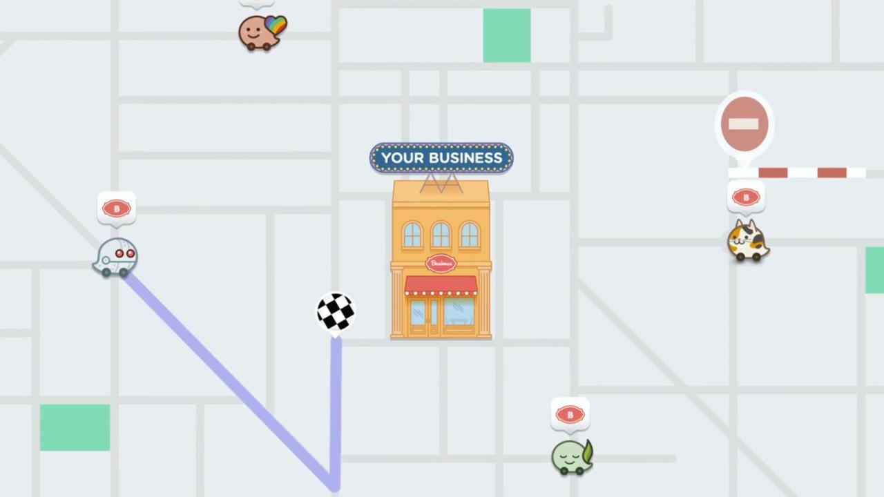 Waze ahora quiere llevar tráfico (real) a los pequeños negocios