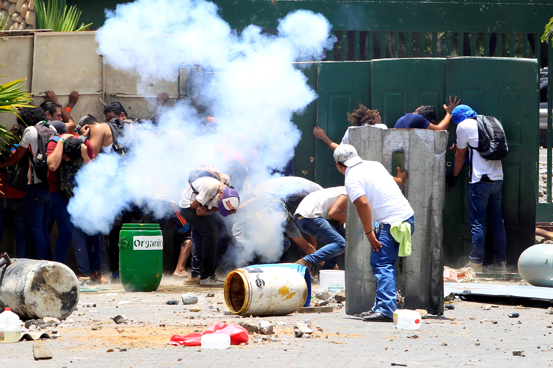 Gobierno mexicano condena violencia en Nicaragua