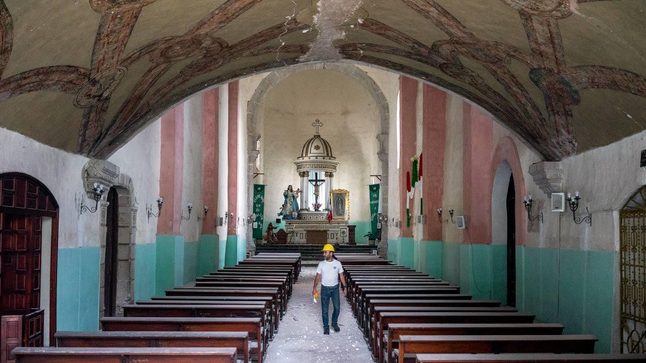 Develando el saqueo del arte sacro en México