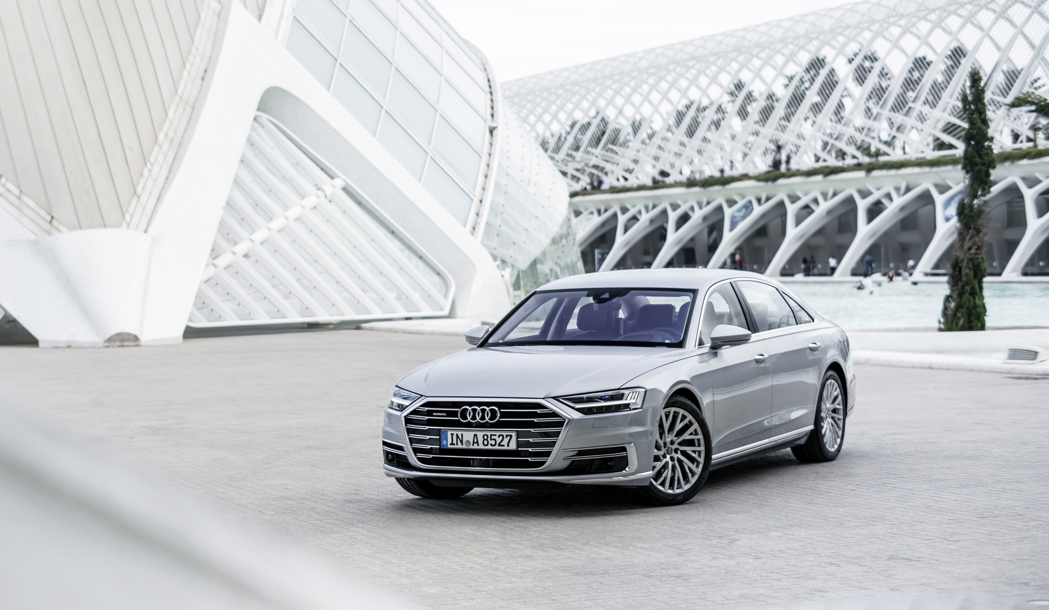 El A8 de Audi conquista el premio World Luxury Car 2018