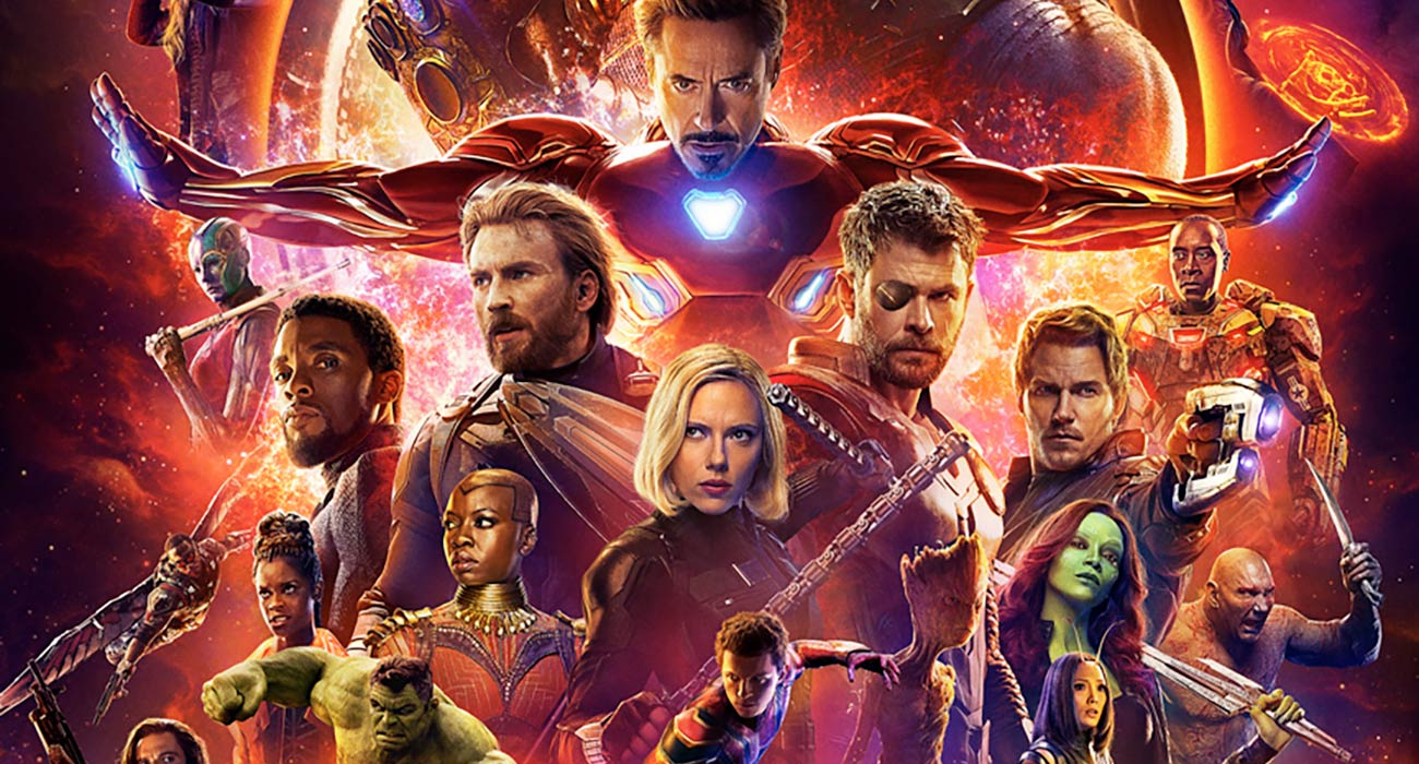 The Avengers se apoderan del catálogo de Netflix, compruébalo
