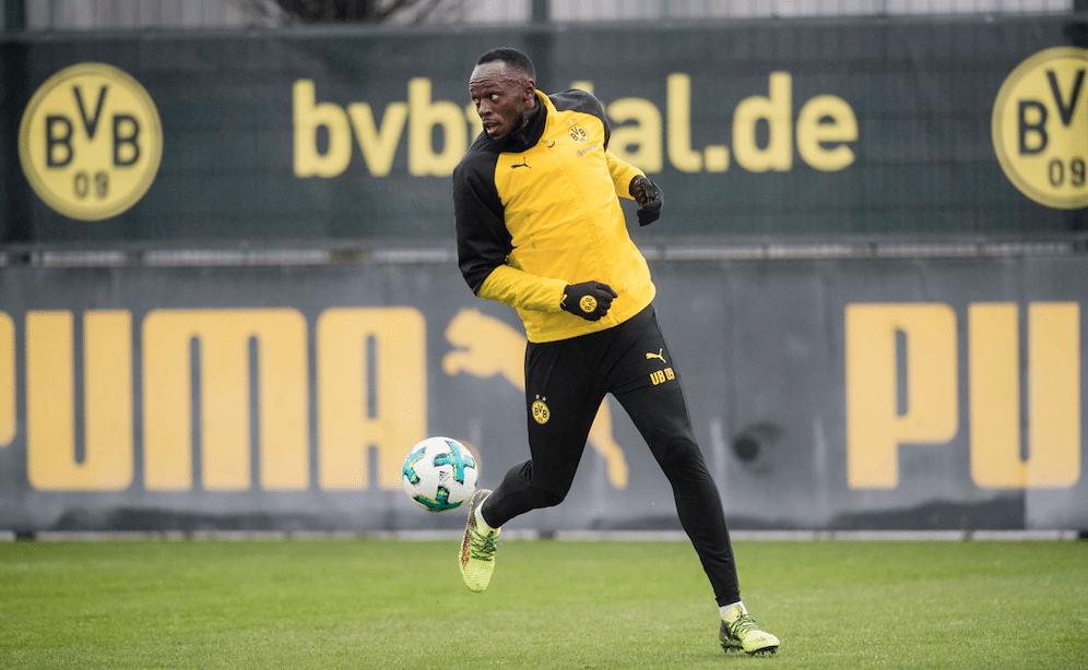 Usain Bolt, Borussia Dortmund, fútbol, deporte
