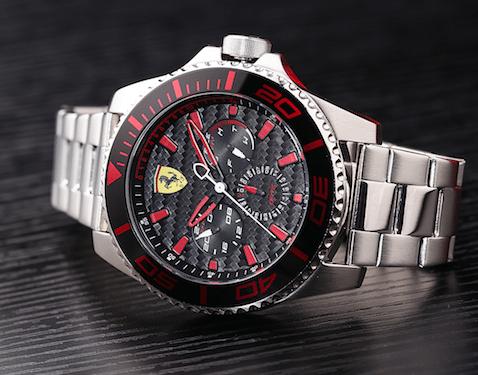 Movado, Ferrari, reloj, lujo