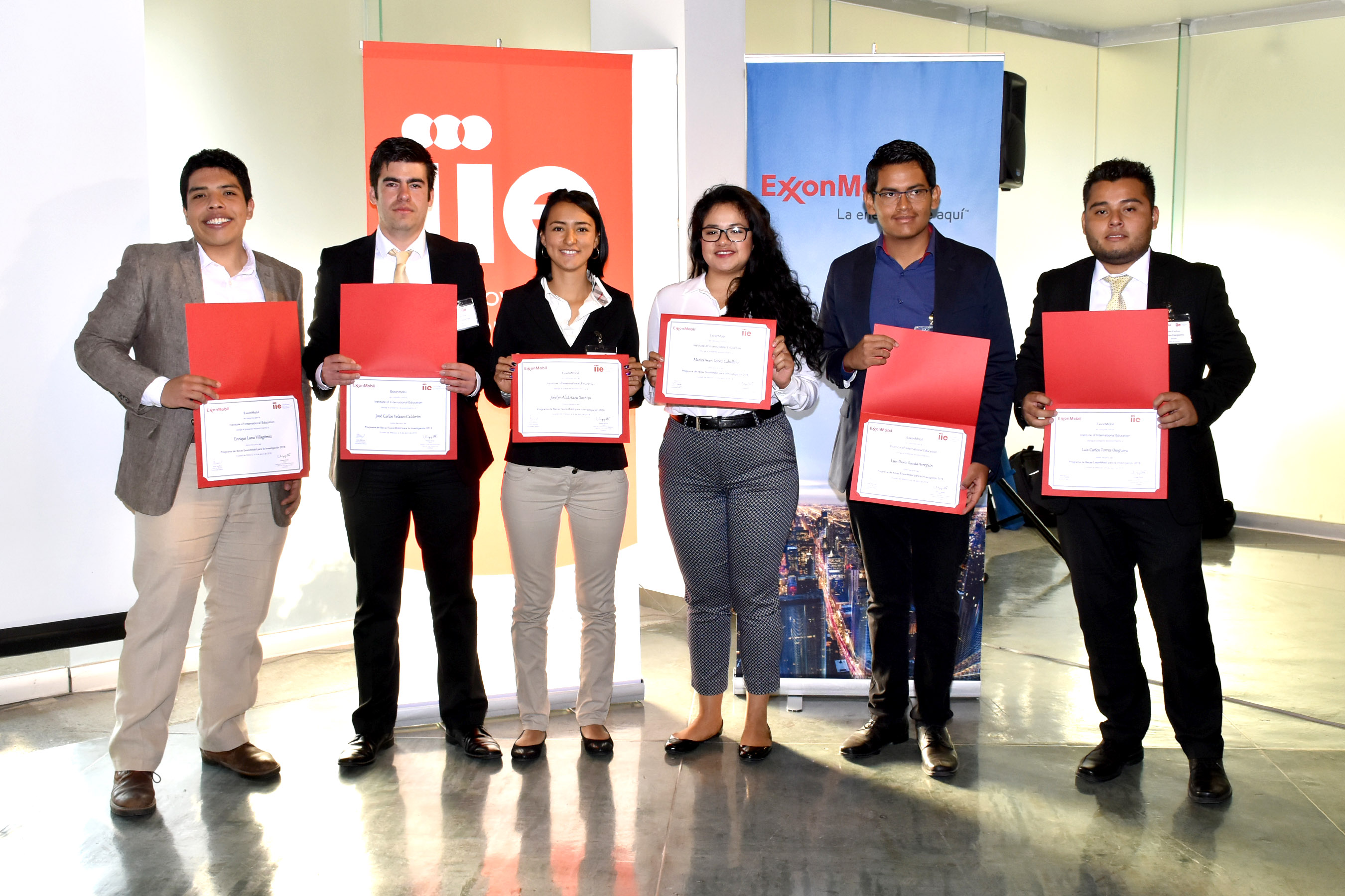 ExxonMobil capacitará a 6 estudiantes de la UNAM en Texas