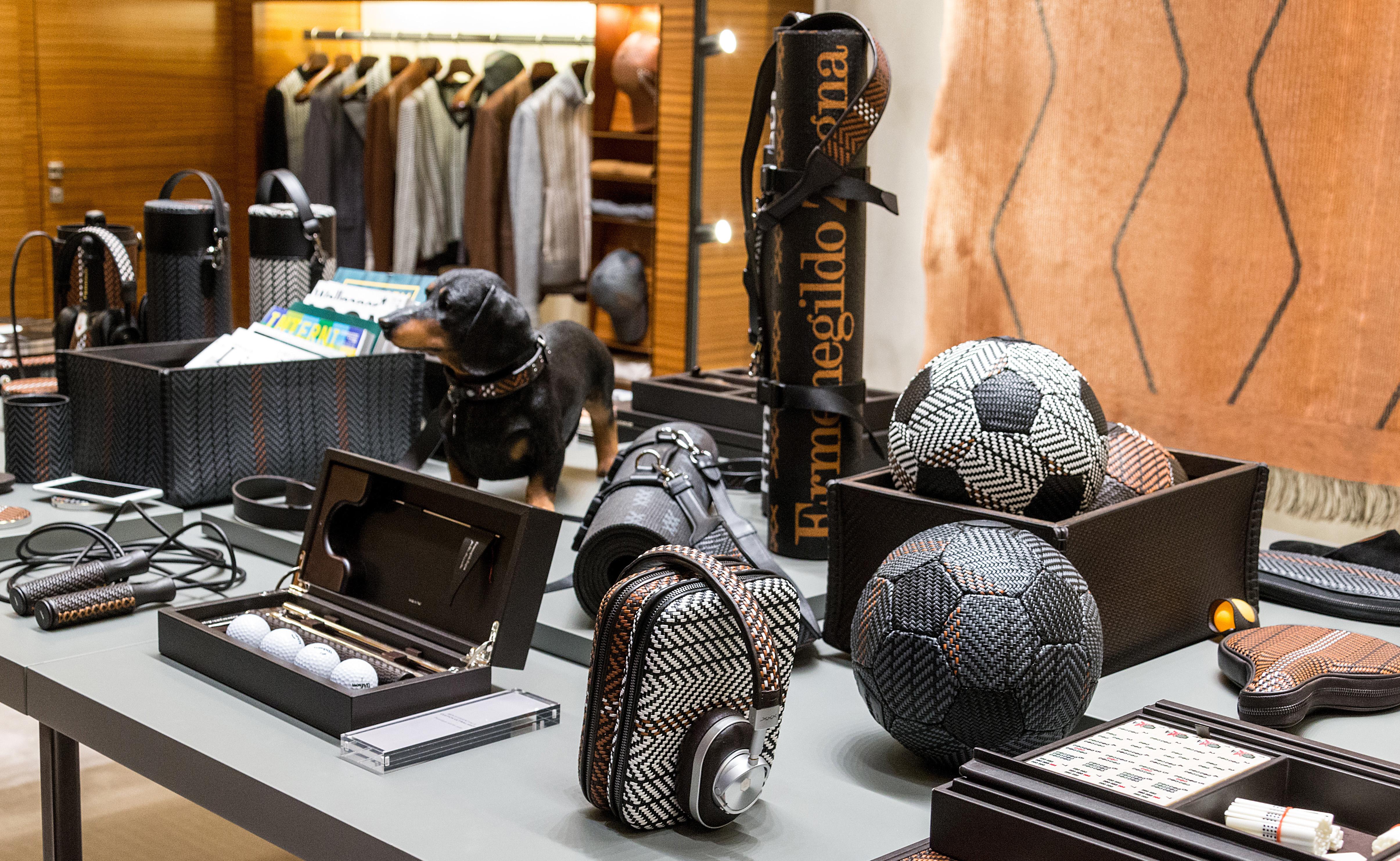 Zegna lanza colección de accesorios con alma vintage