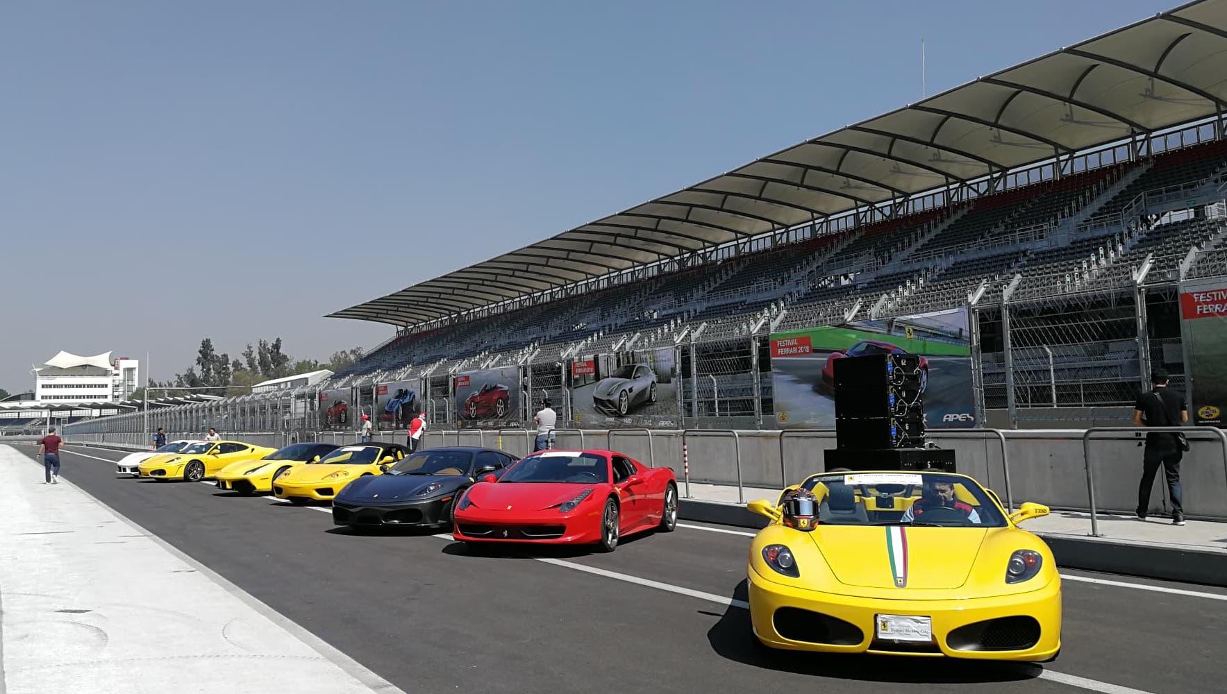 ¿Tienes un Ferrari? atrévete a correrlo en el Autódromo de la CDMX