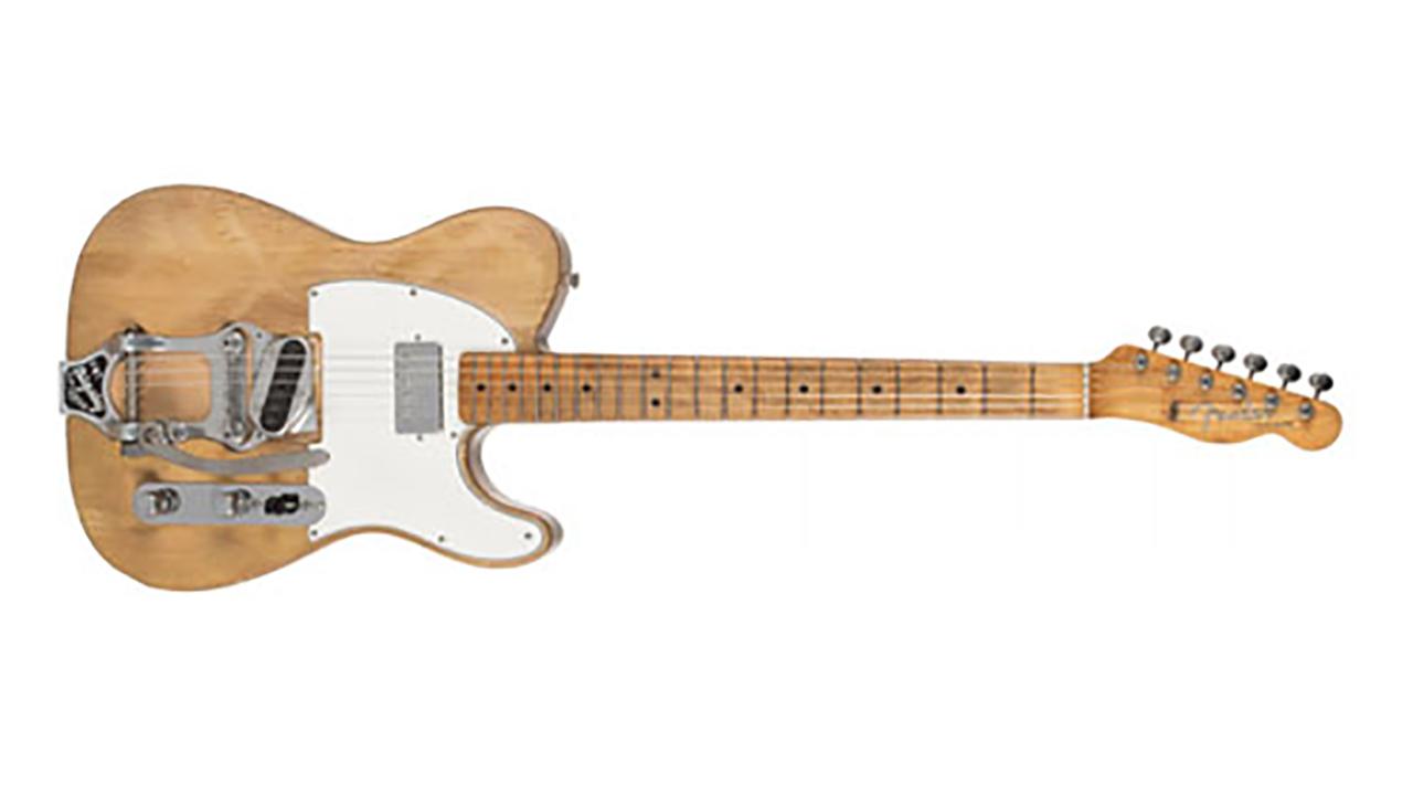 La legendaria guitarra eléctrica de Bob Dylan puede ser tuya