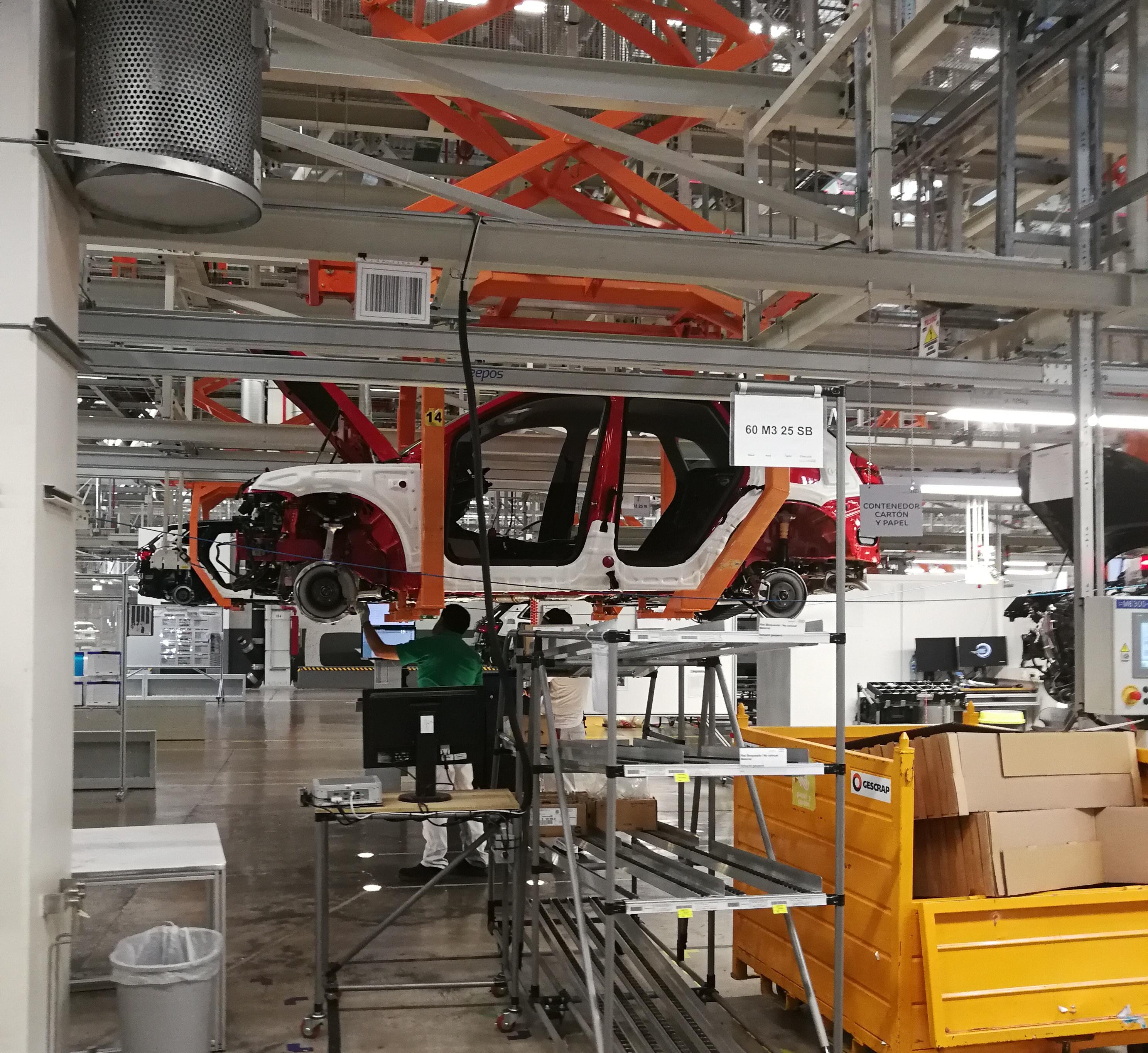 La planta de Audi en San José Chiapa, Puebla