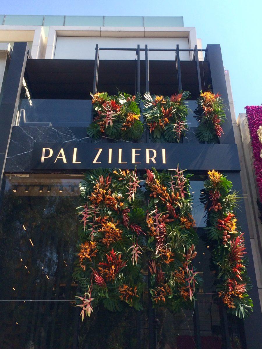 Iniciativa Polanco en Flores viste a Masaryk de primavera