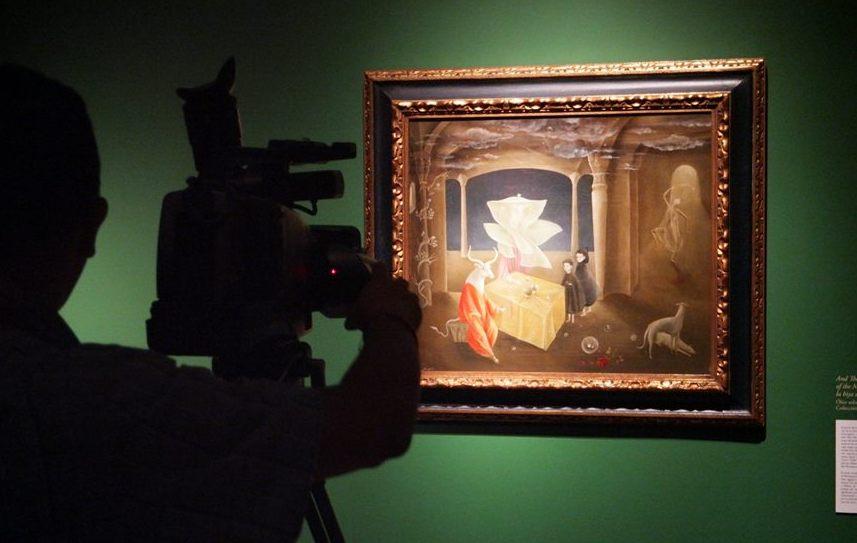 Leonora Carrigton en el Museo de Arte Moderno
