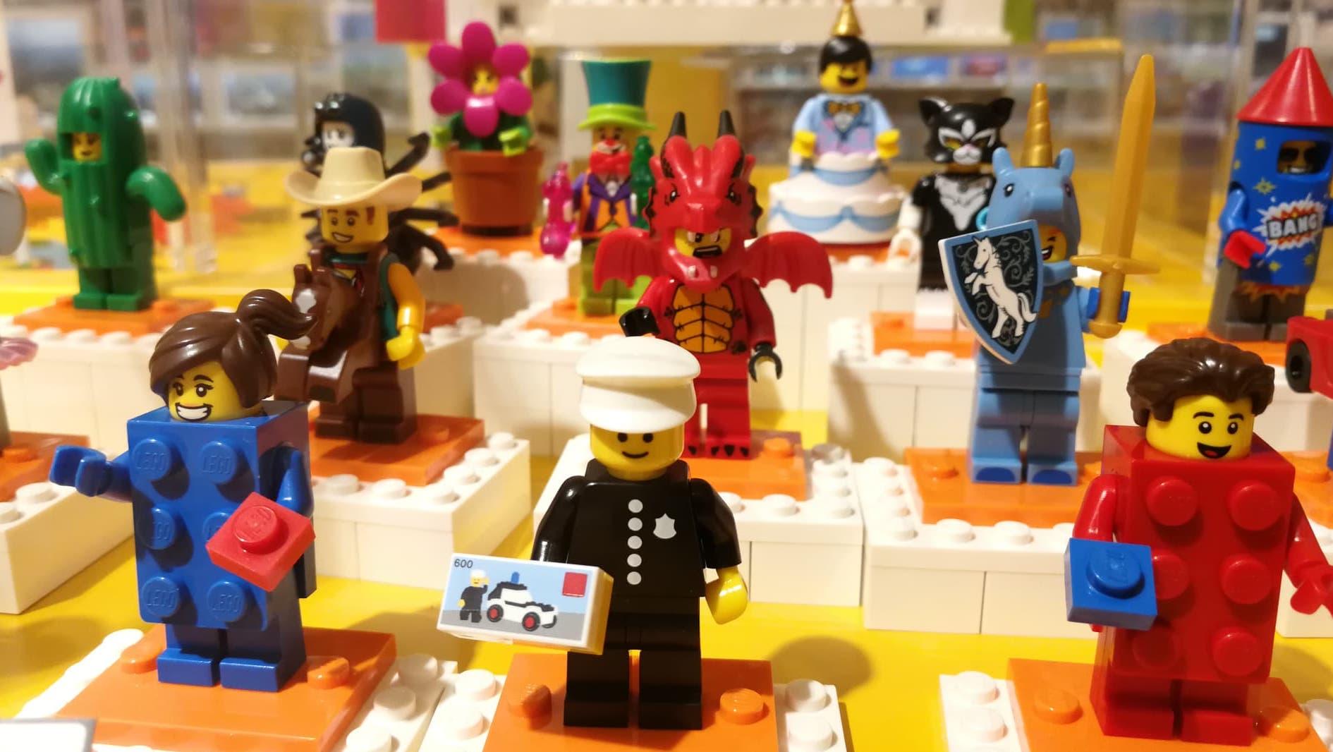 Construye tu propio personaje de LEGO en la Ciudad de México