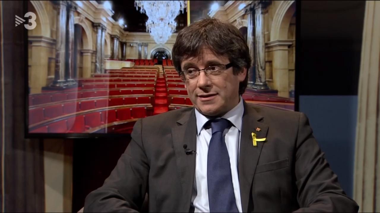 Puigdemont se resiste a que jueces condicionen gobierno de Cataluña