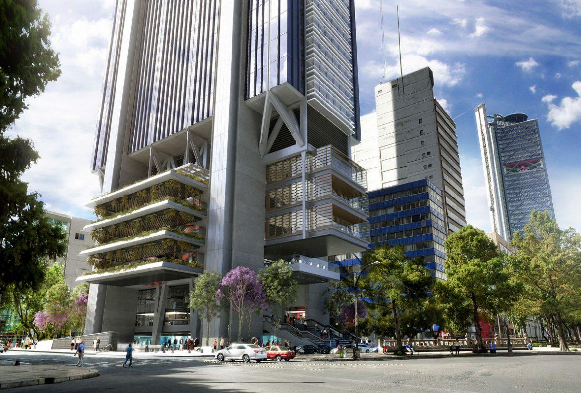 Un nuevo rascacielos se construirá en Paseo de la Reforma