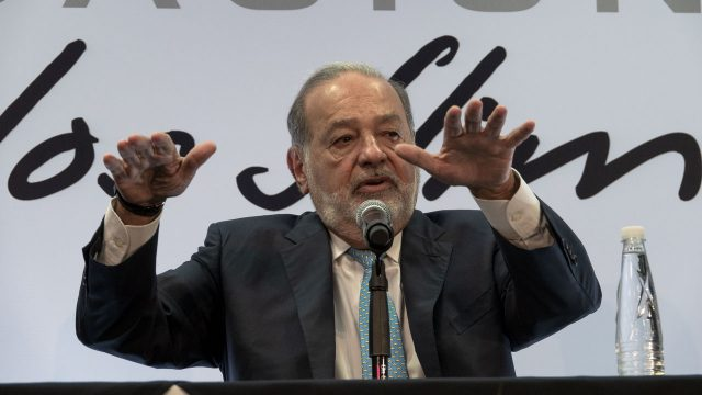 Carlos Slim, Presidente de Grupo Carso. Foto: Angélica Escobar/Forbes México.