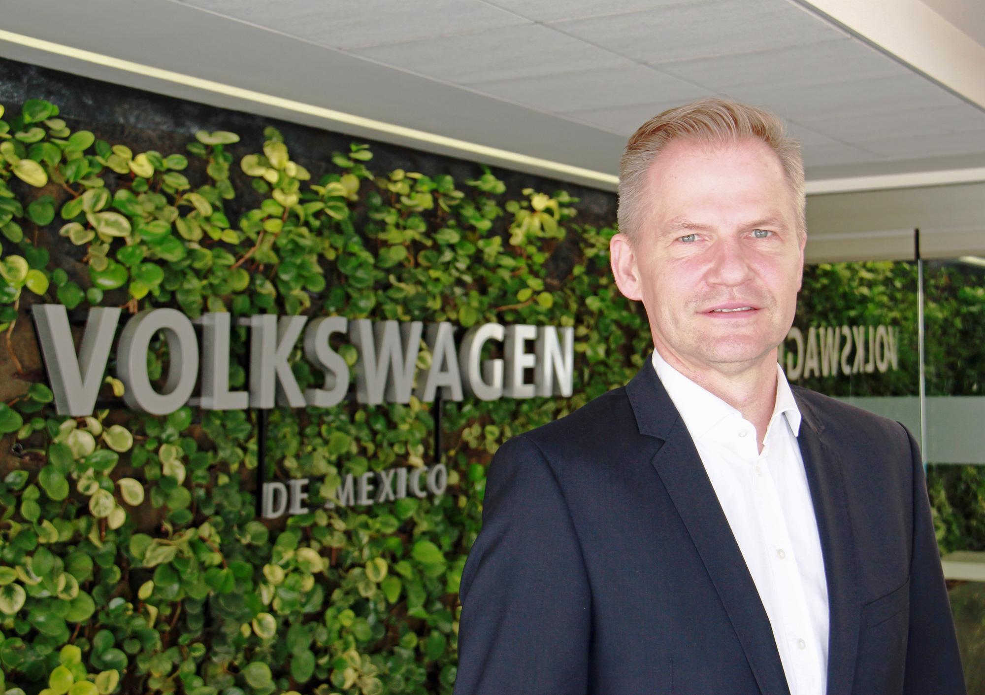VW México anuncia a Steffen Reiche como nuevo presidente