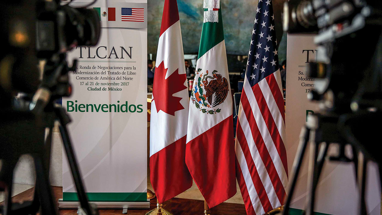 Trump no va a detenerse hasta lograr un acuerdo en el TLCAN: Casa Blanca
