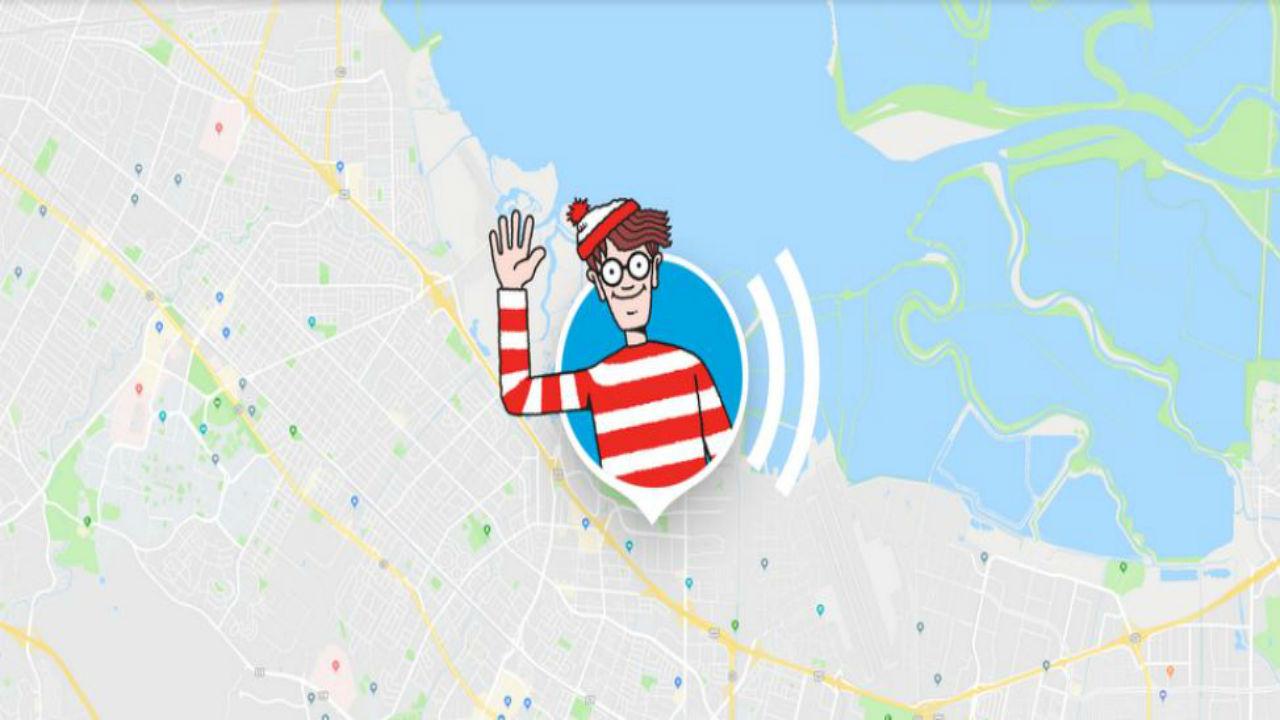 Wally quiere que lo encuentres en Google Maps