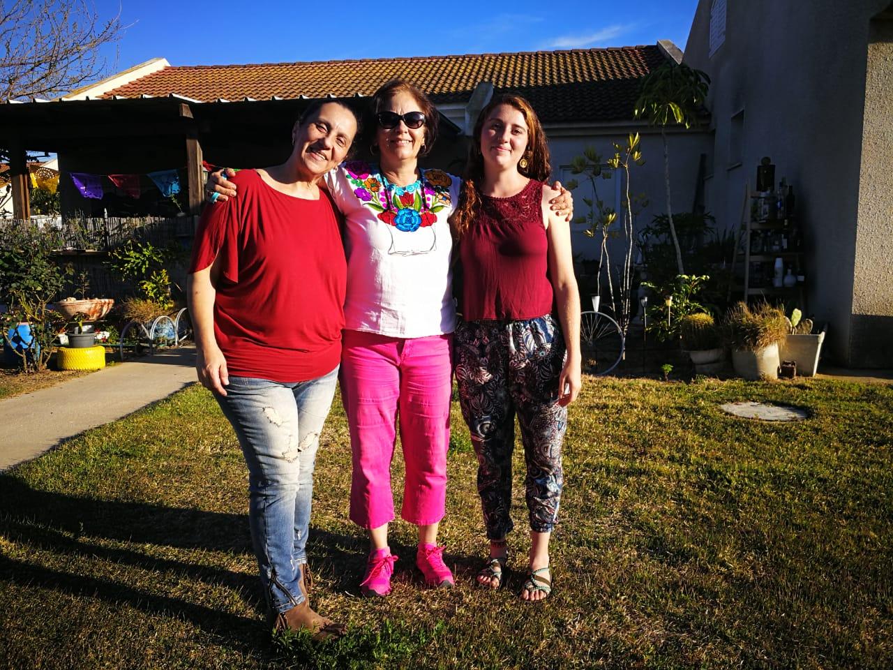 Tres mexicanas que prefieren vivir al borde de la Franja de Gaza que en México