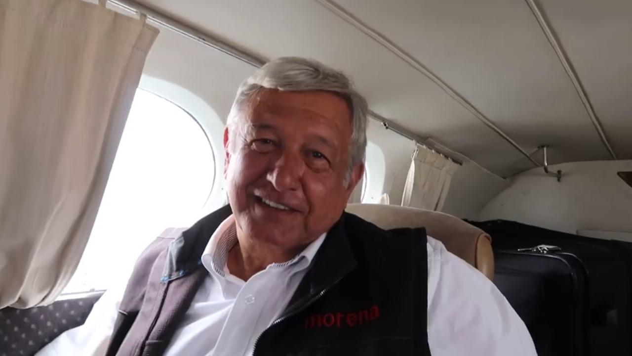 """""""Estoy al 100"""", dice López Obrador respecto a su salud"""