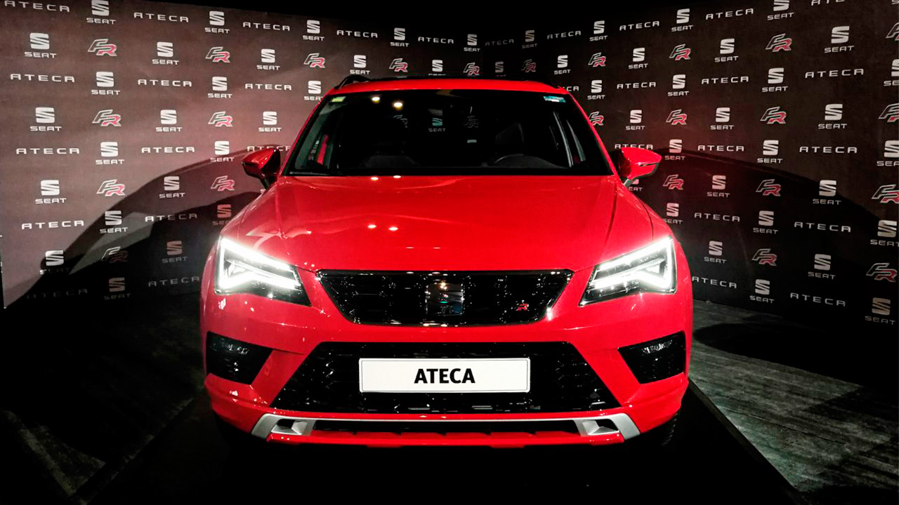 Seat lanza Ateca FR, su nueva SUV para el mercado mexicano